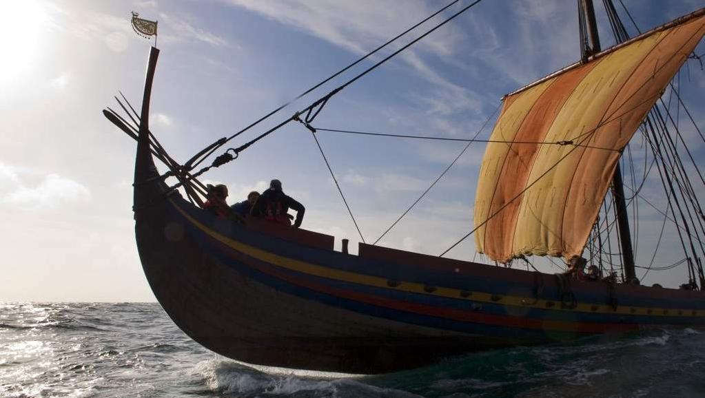 Odhad původní podoby vikingského plavidla