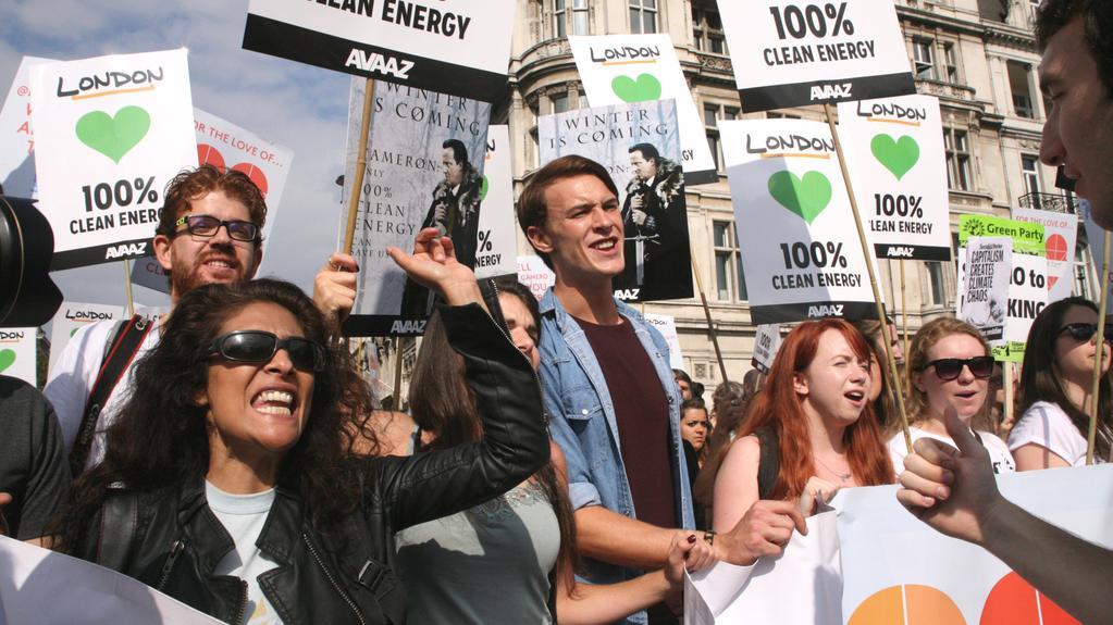 Demonstrace v Londýně
