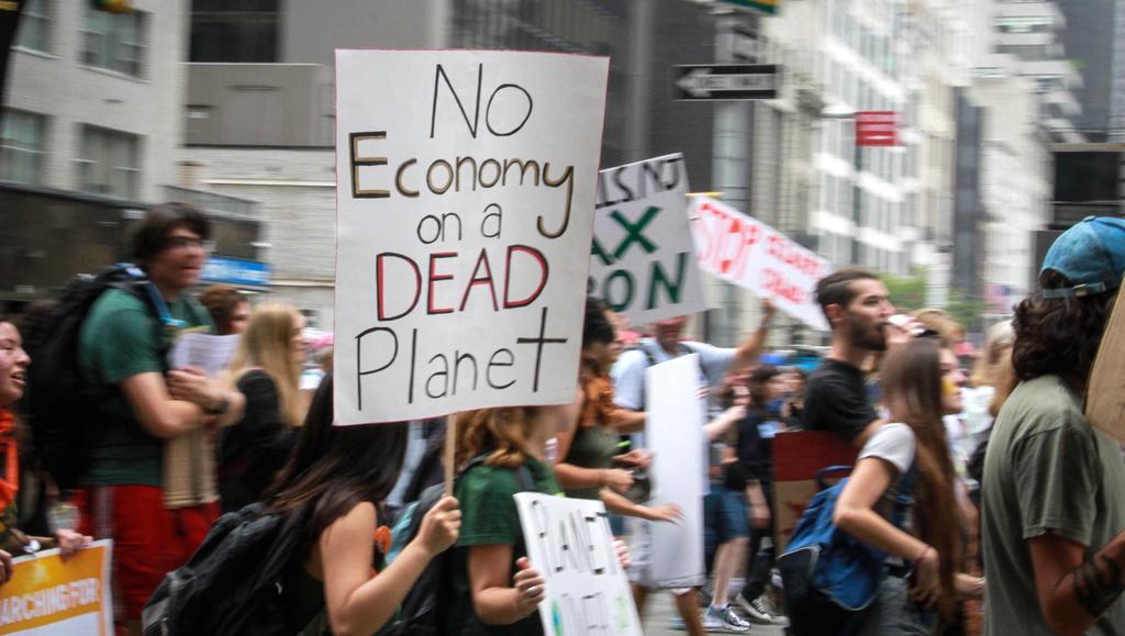New York: Pochod za boj proti klimatickým změnám
