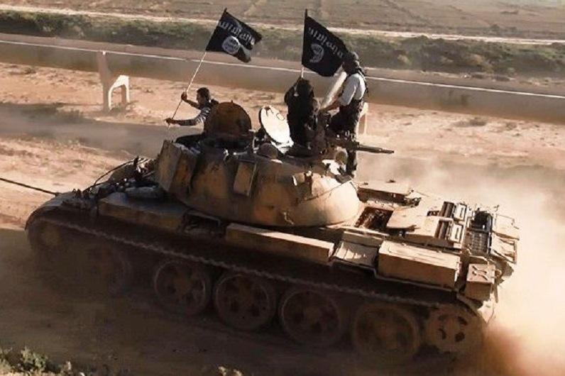 Vojenské jednotky islamistů