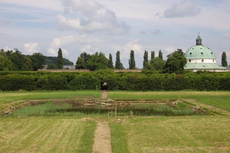 Z Pstružích rybníků se zachovala původní konstrukce