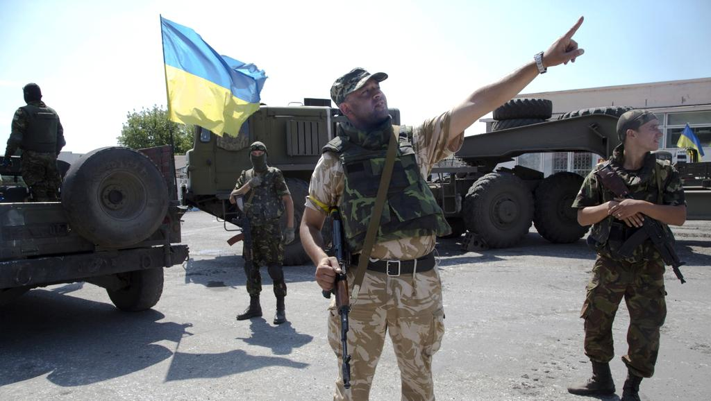 Ukrajinské jednotky