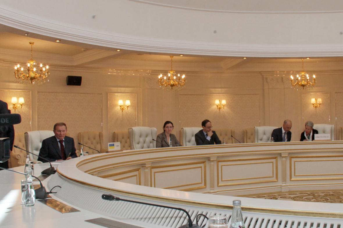 Jednání kontaktní skupiny v Minsku