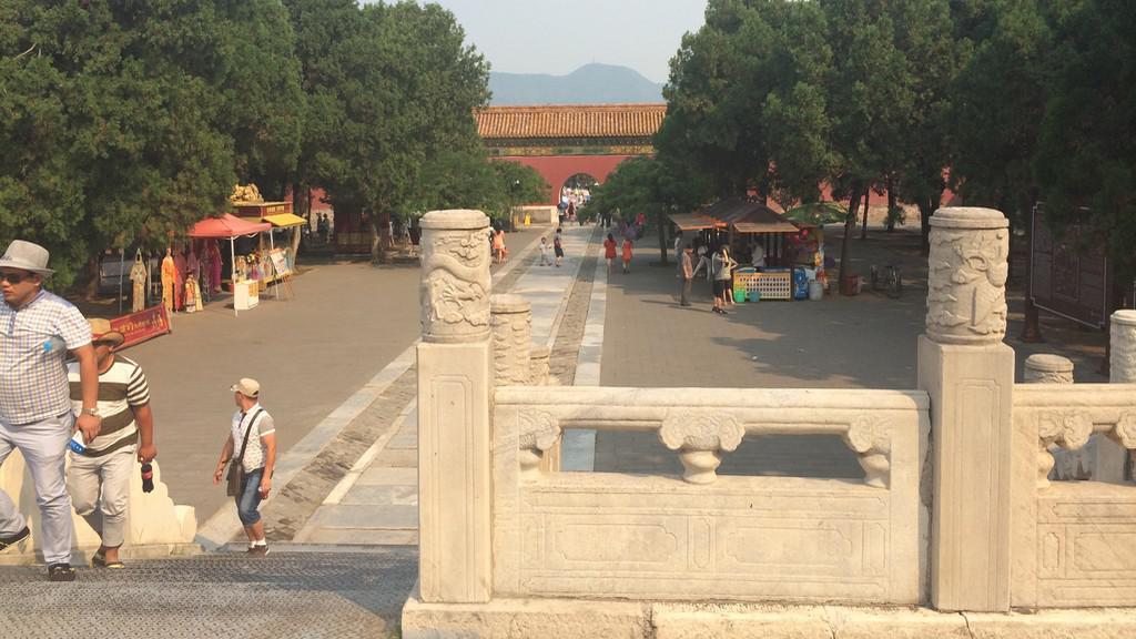 Pekingské parky lákají svým klidem