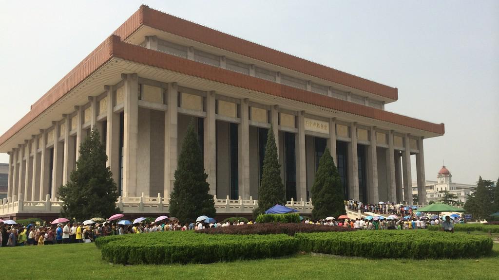 Budova mauzolea Mao Ce-tunga