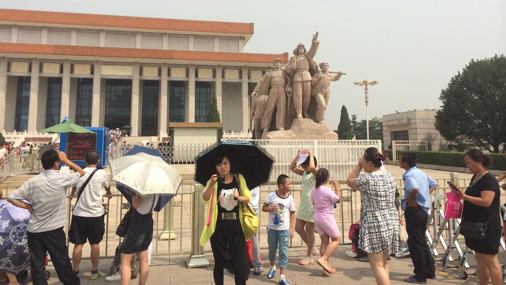 Číňané uctívají své revoluční symboly