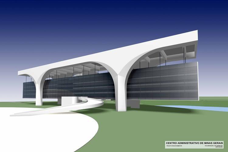 Oscar Niemeyer / Administrativní centrum v Belo Horizonte