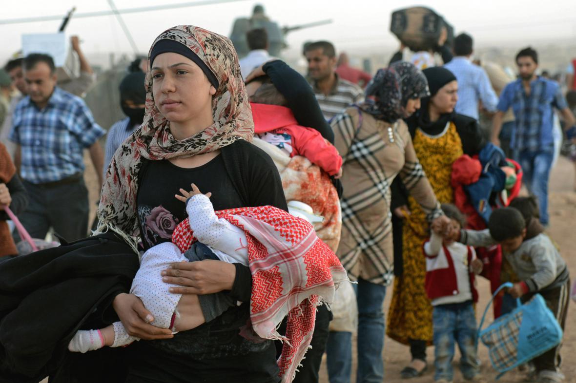 Kurdští uprchlíci