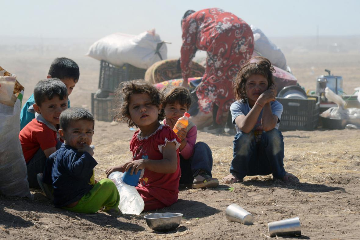 Kurdští uprchlíci v Turecku