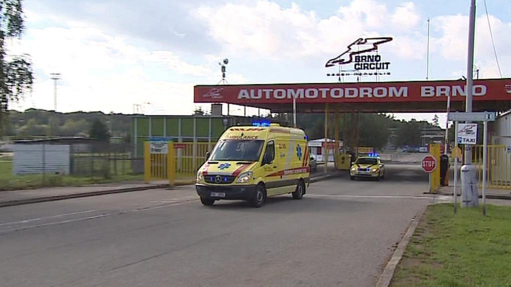 Záchranky opouštějí brněnský automotodrom