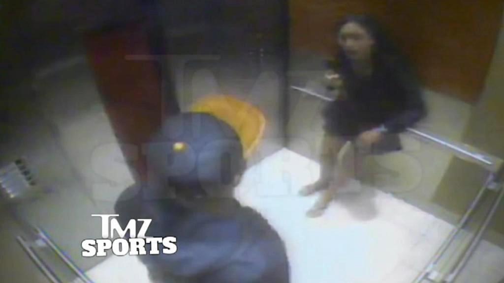 Ray Rice zmlátil ve výtahu svou snoubenku do bezvědomí