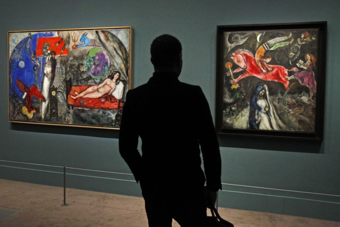 Obrazy Marka Chagalla