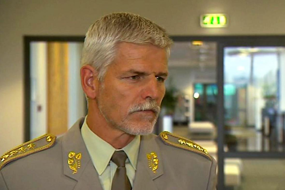 Petr Pavel krátce po zvolení do funkce šéfa Vojenského výboru NATO