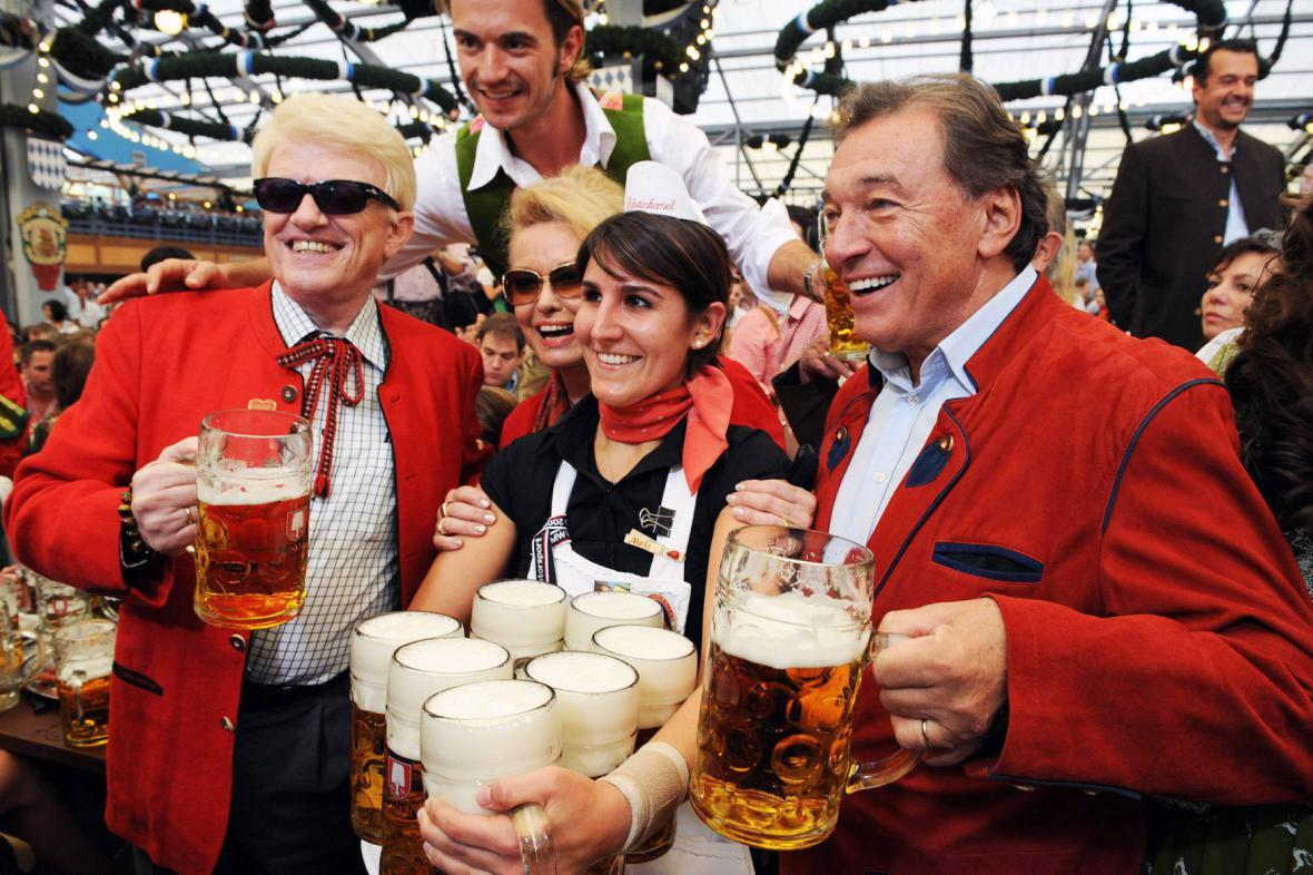 Karel Gott na Oktoberfestu