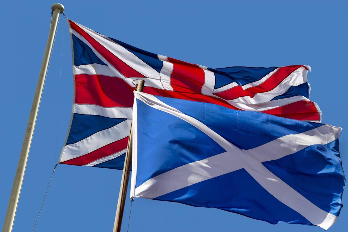 Skotové budou hlasovat o svém odchodu ze Spojeného království