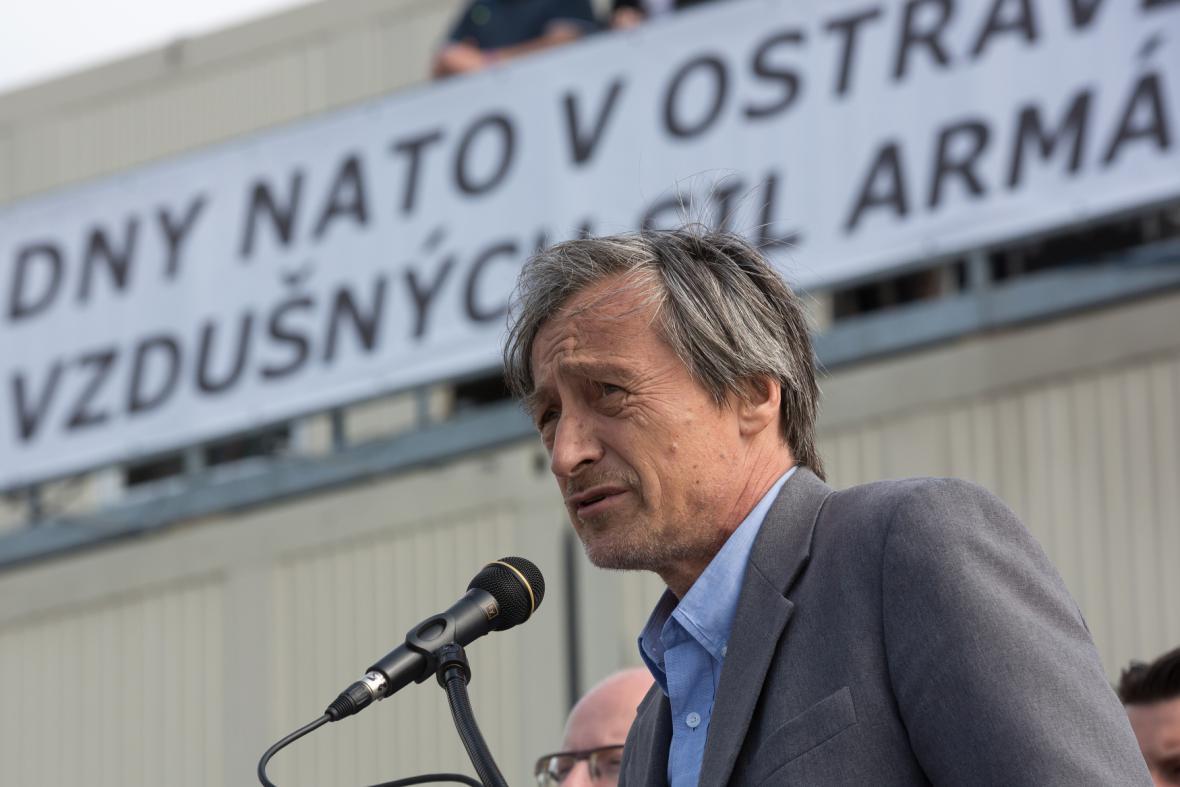Martin Stropnický na Dnech NATO v Ostravě