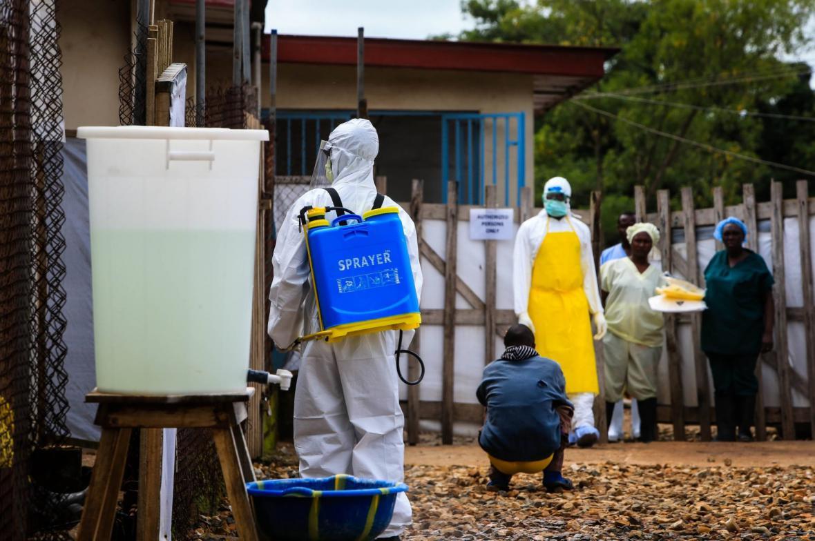 Ebola v Africe