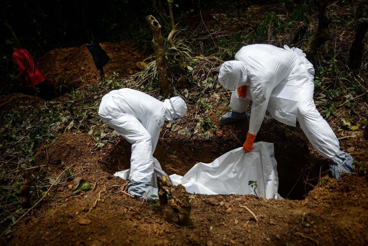 Epidemie eboly v Africe