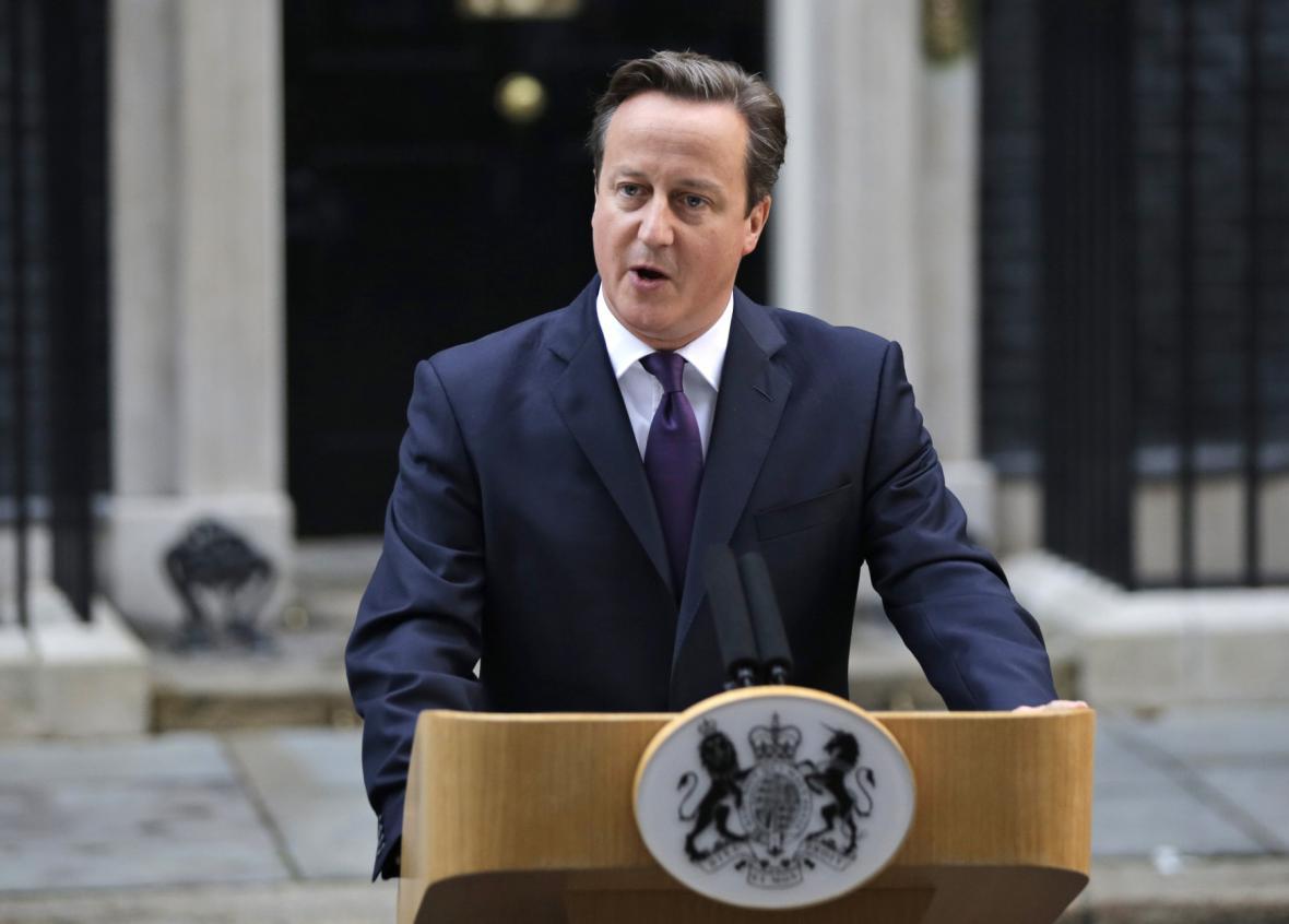 Projev Davida Camerona po vítězství unionistů