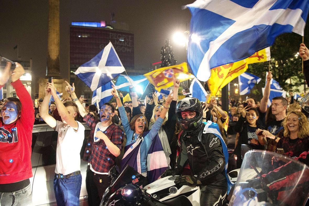 Příznivci odtržení dosáhli dílčího vítězství v Glasgow