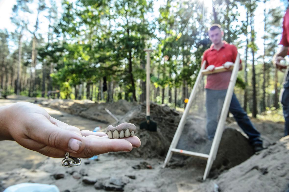 Archeologické nálezy v Sobiboru