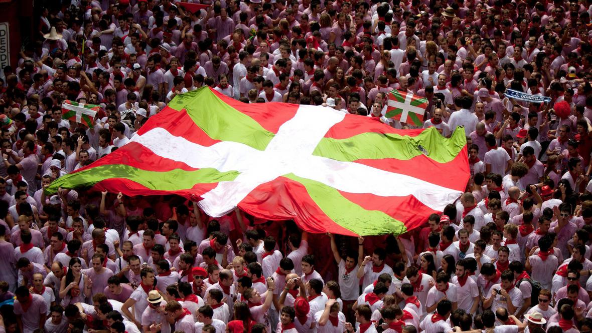Baskická vlajka