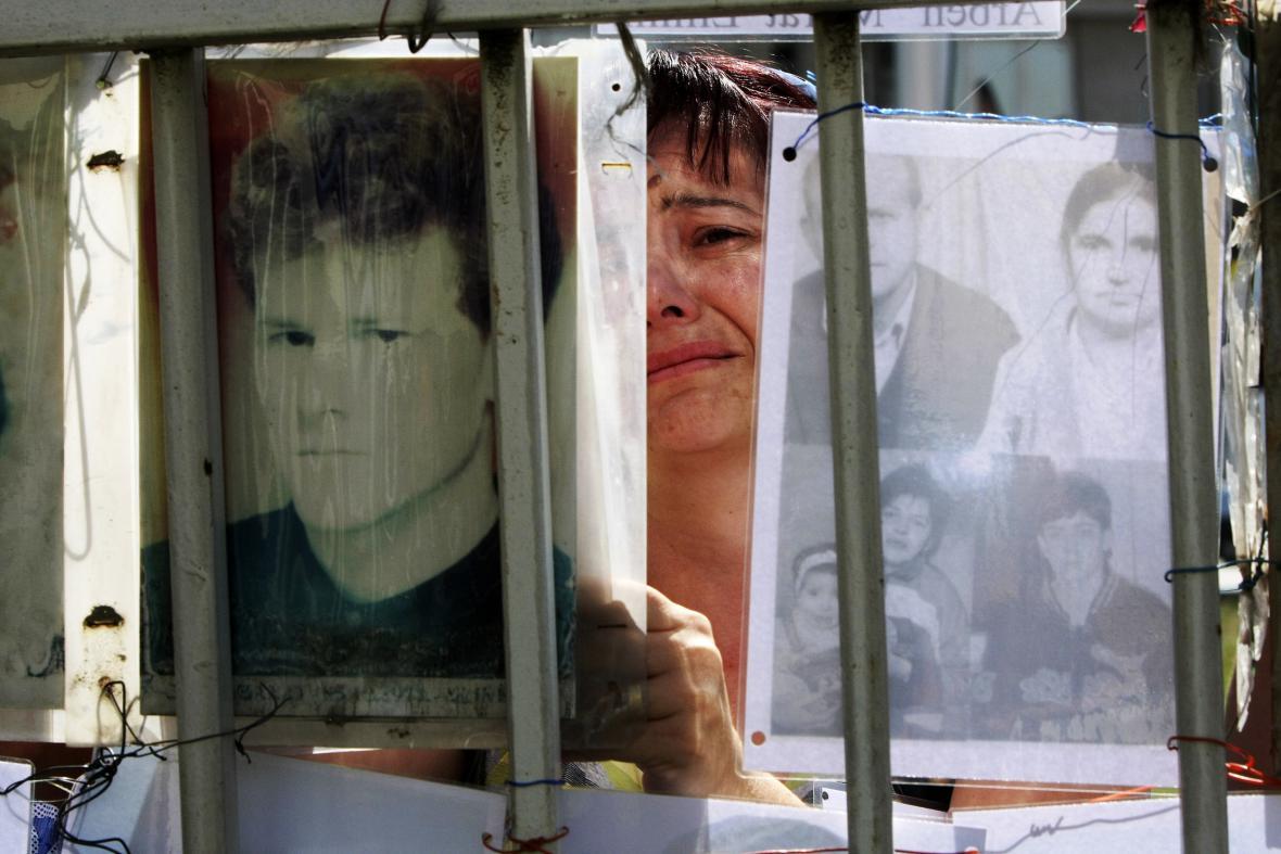 Pieta za oběti války v Kosovu