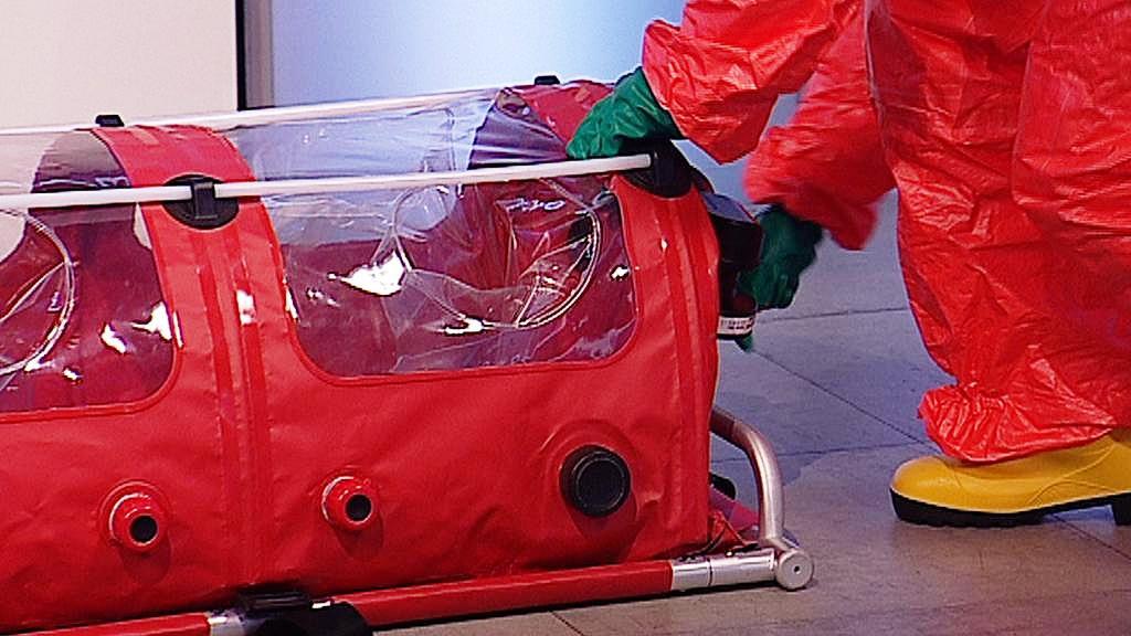 Biovak pro transport pacienta s ebolou