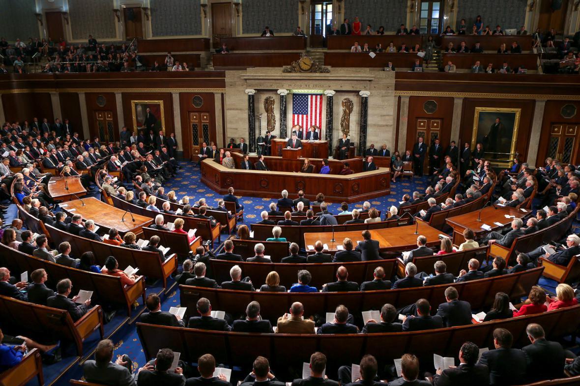 Projev Petra Porošenka v Kongresu USA