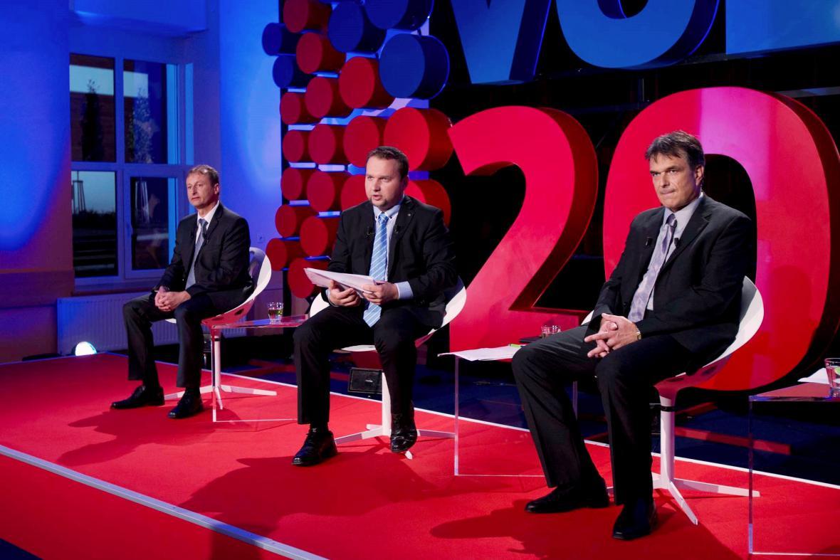 Předvolební debata v Jeseníku nad Odrou