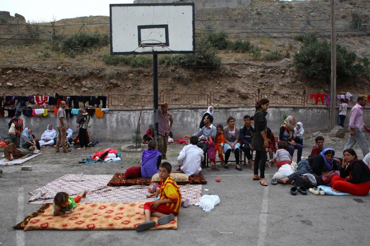Mnoho jezídů nachází nové útočiště v Turecku