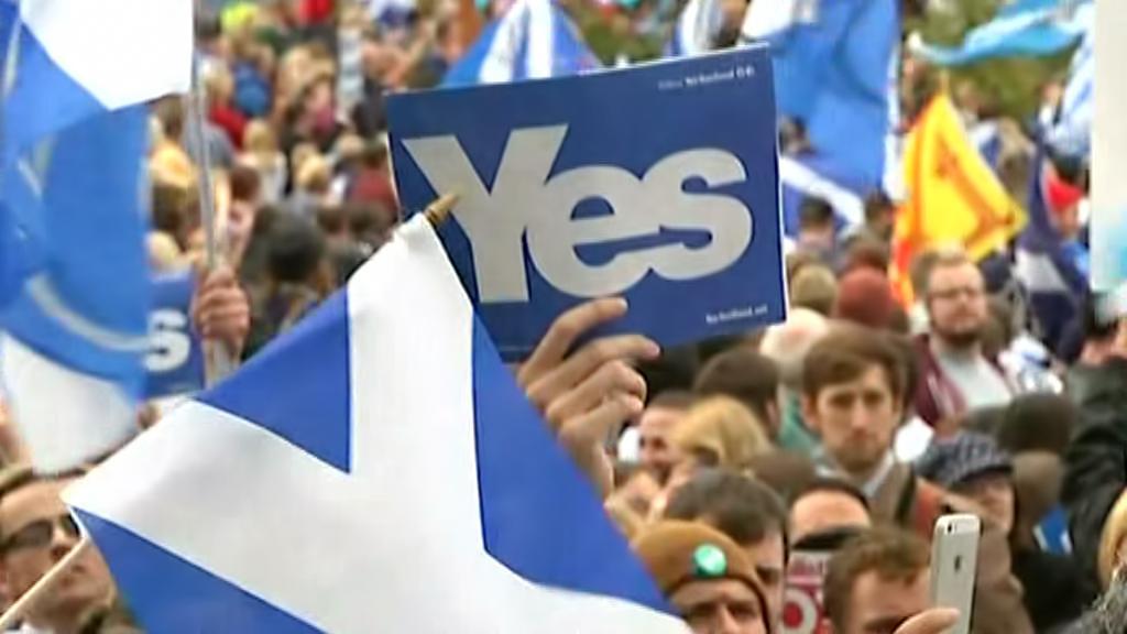 Stoupenci samostatného Skotska