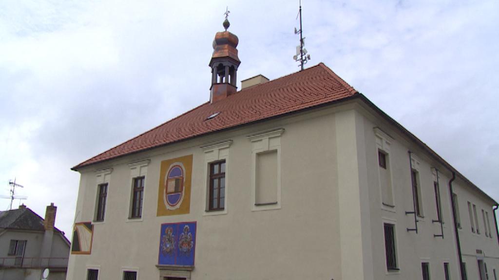 Radnice v Rudolfově - současný stav