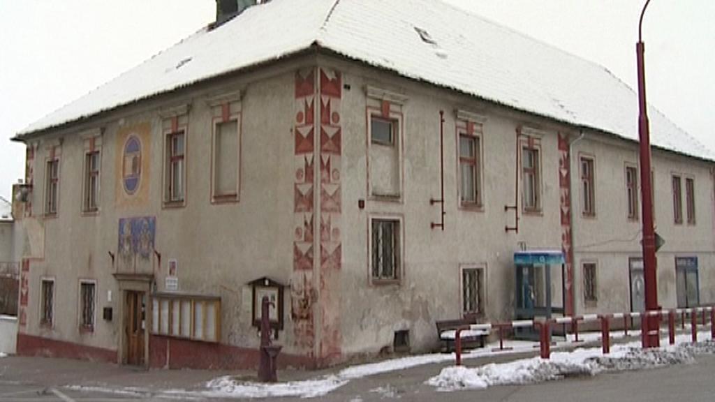 Radnice v Rudolfově - původní stav