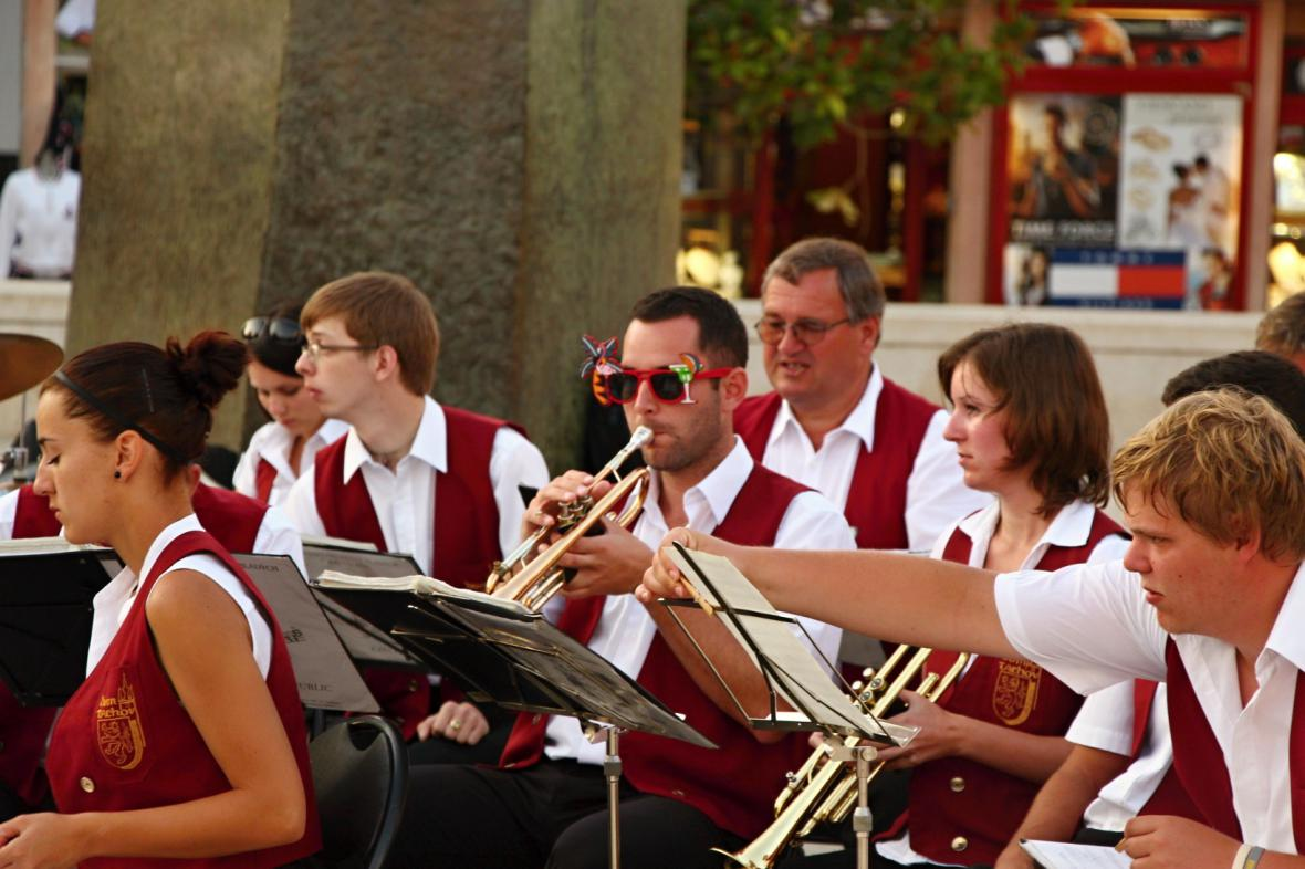 DOM při koncertě v Poreči