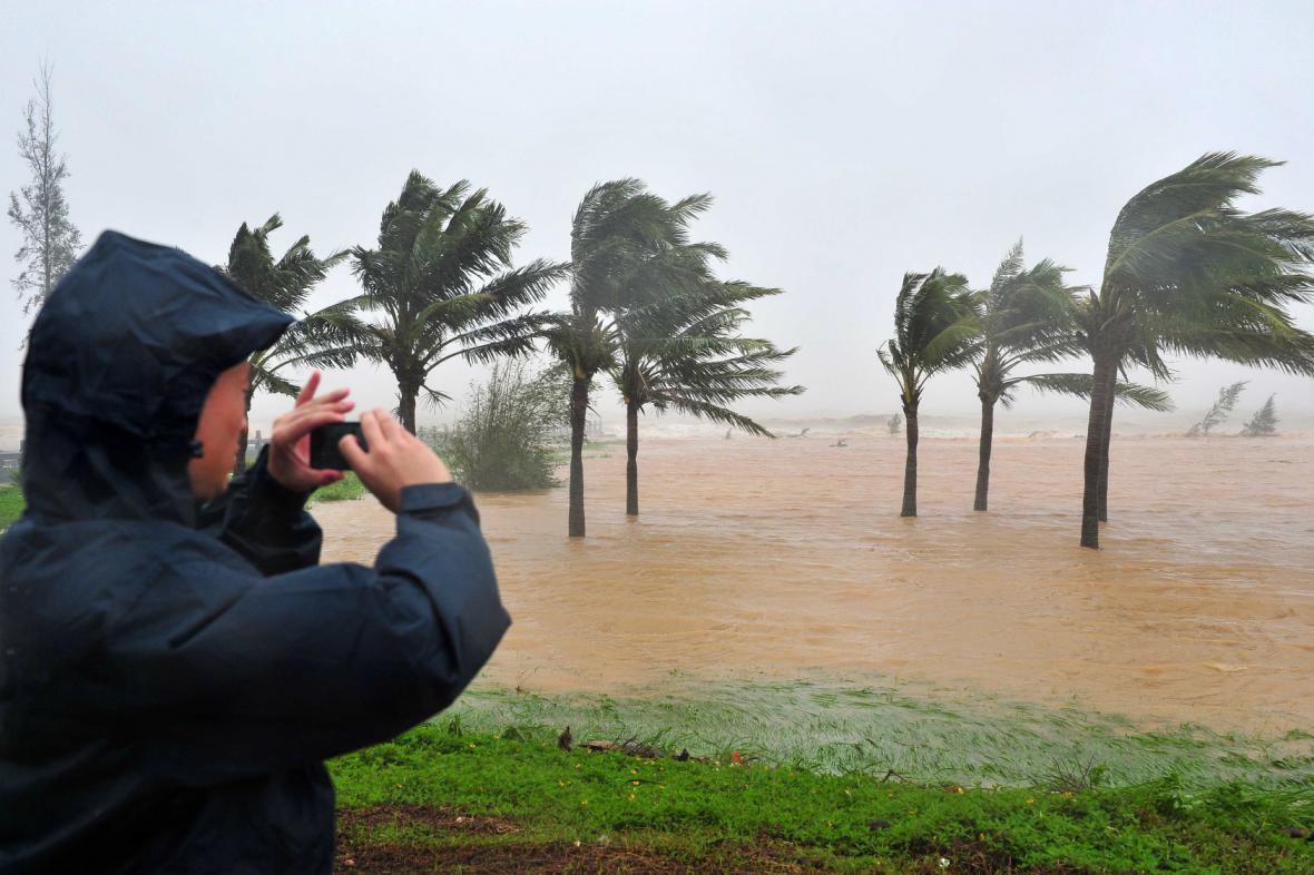 Tajfun Kalmaegi zasáhl Filipíny