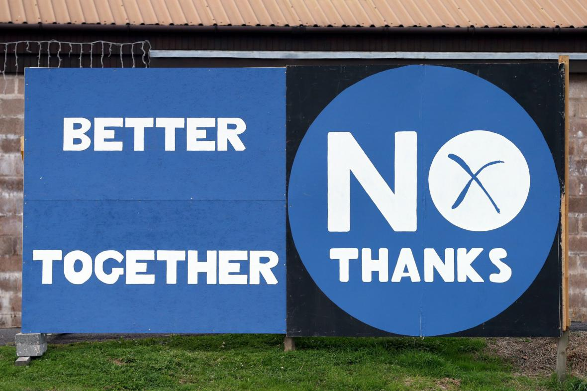 Kampaň proti nezávislosti Skotska