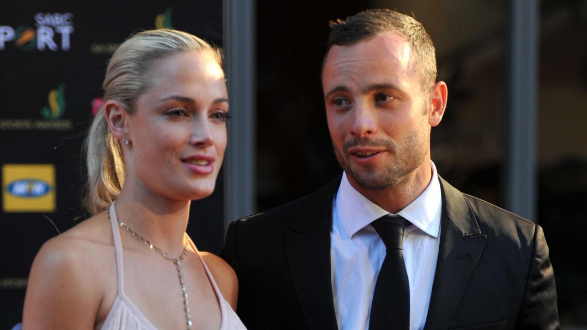 Oscar Pistorius s přítelkyní