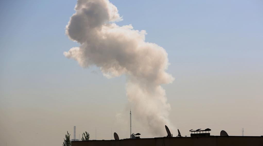 Stopa exploze nad Kábulem