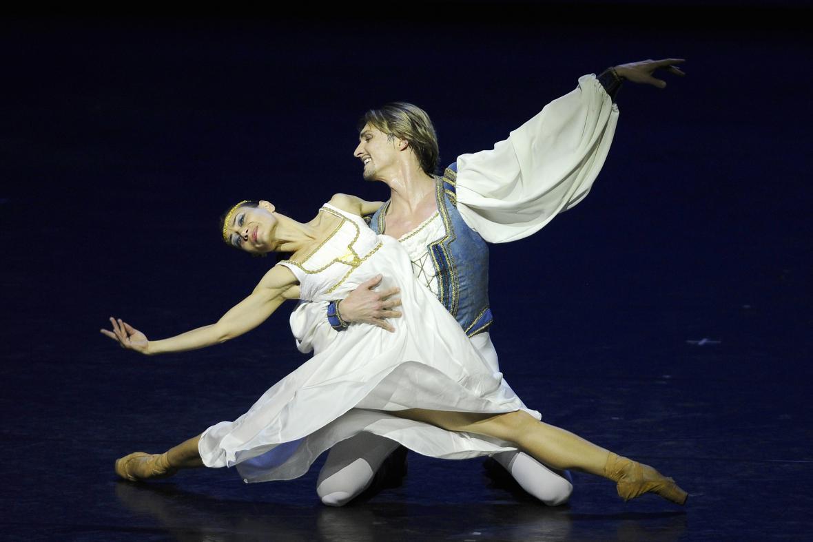 Rozlučkové představení baletní sólistky Jany Přibylové
