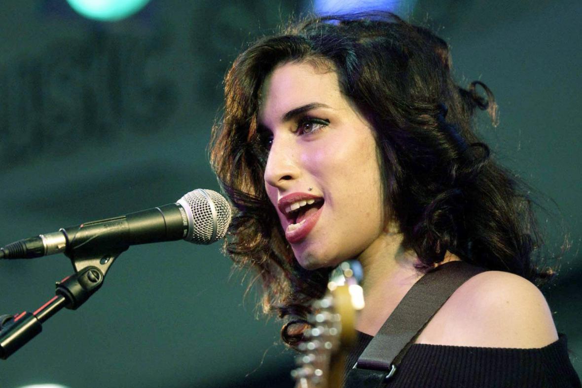 Zpěvačka Amy Winehousová