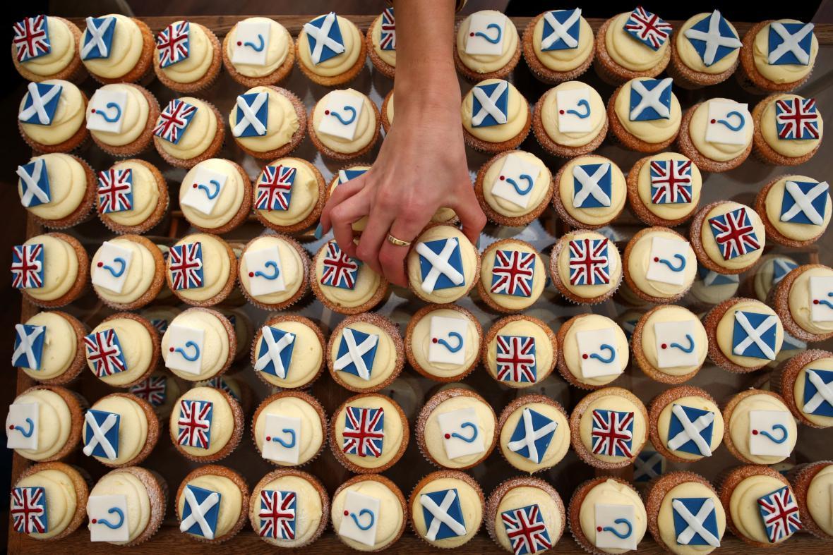 Dortíkové referendum se v Edinburghu těší velké oblibě