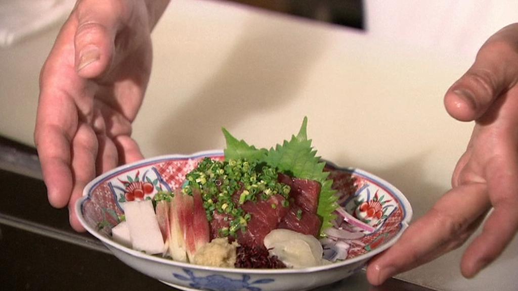 Pokrmy z velrybího masa