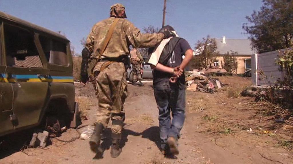Zajatci v bojích na Ukrajině