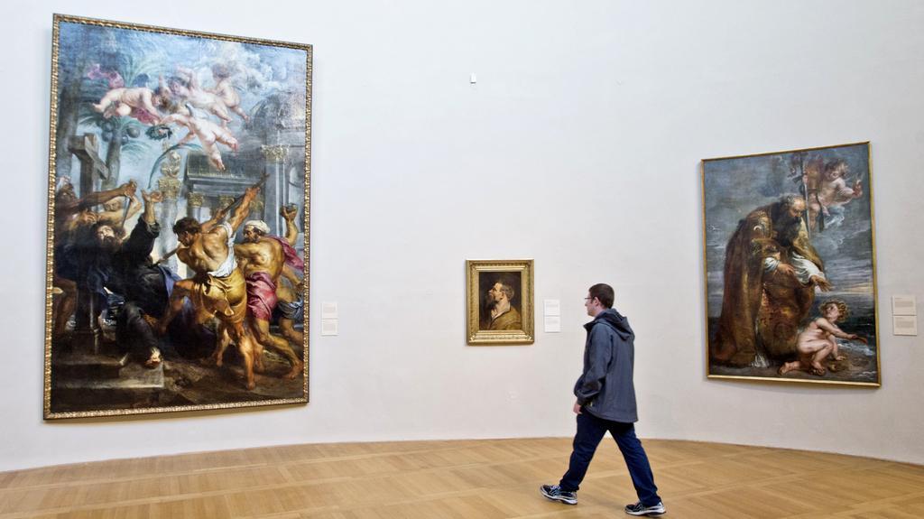 Rubensovo Umučení sv. Tomáše a Sv. Augustin