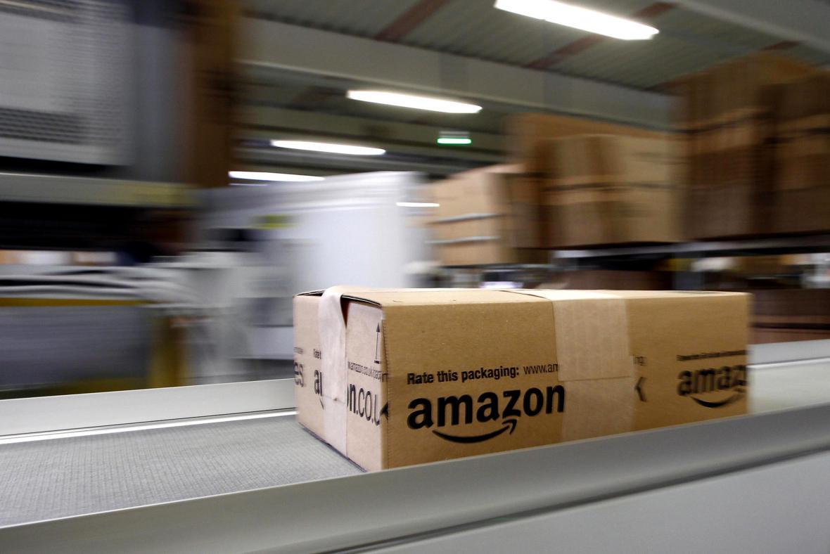 Balíček od Amazonu