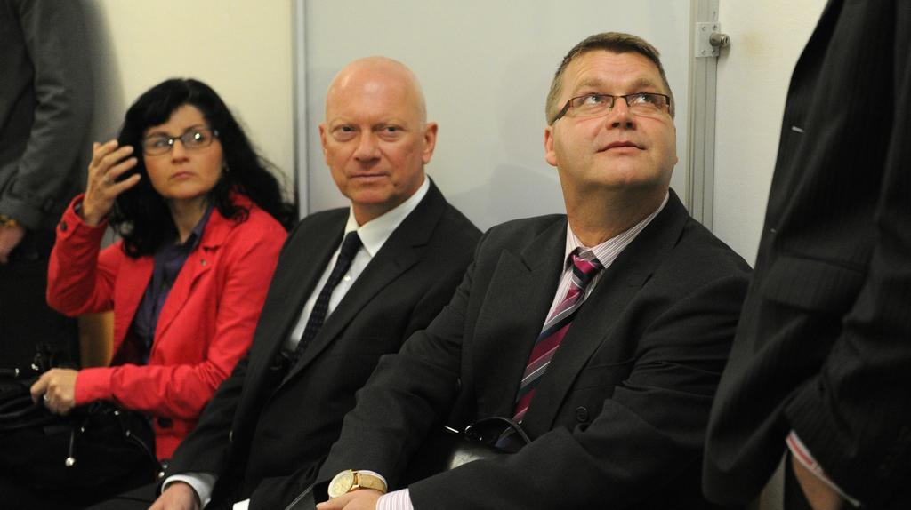 Pavel Kouda a Pavel Markvart před soudem