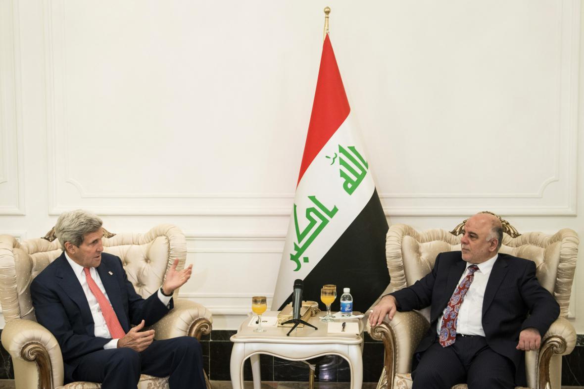 John Kerry a Hajdar Abádí