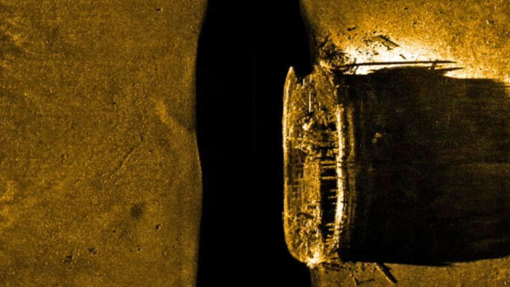 Nalezená britská expediční loď