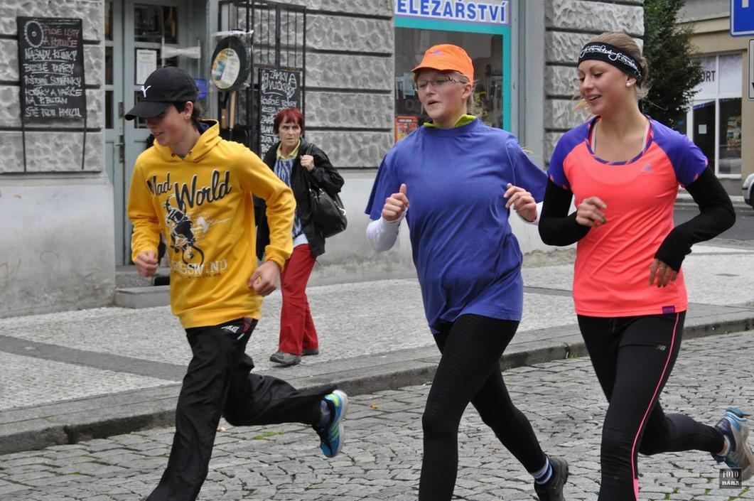 Běh naděje v Lounech - 2013
